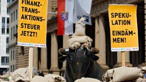 Elf EU-Staaten wollen die Transaktionsteuer