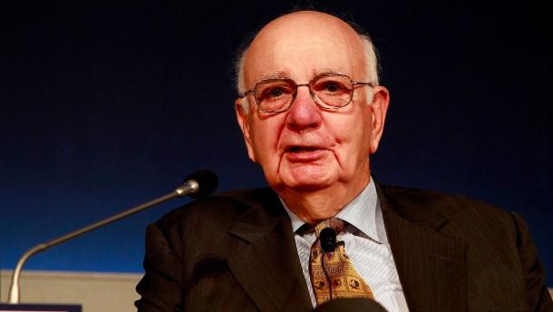 Früherer Fed-Chef Paul Volcker gestorben