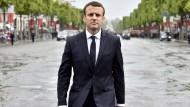Bundesregierung streitet über Macrons Europa-Pläne