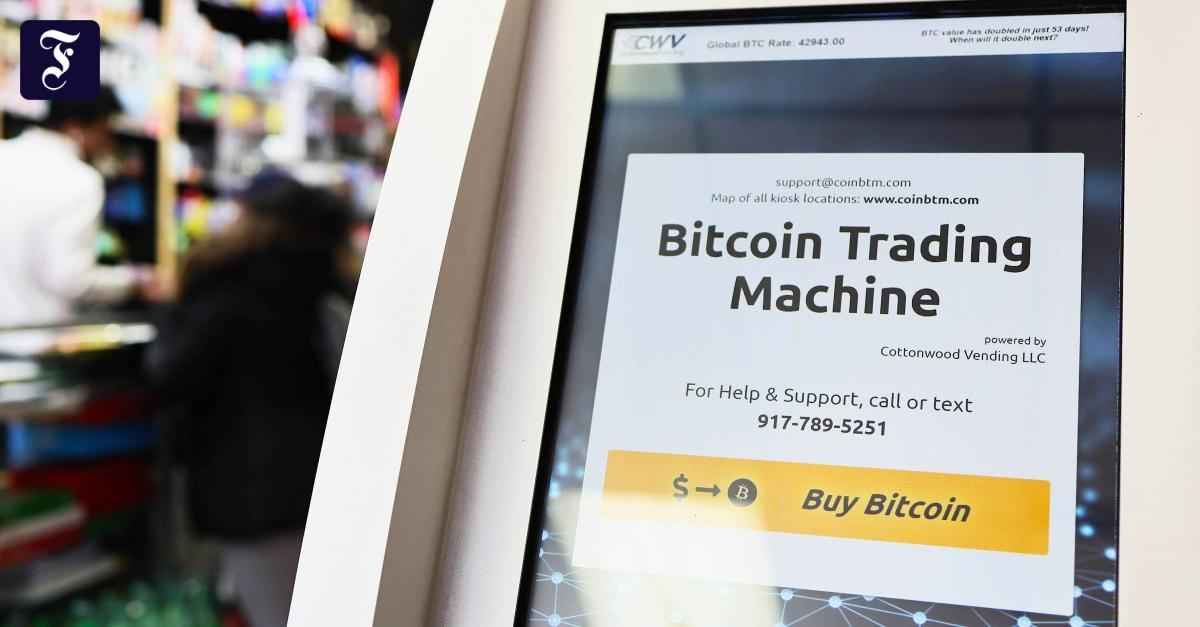 Bitcoin-Höhenflug geht weiter - FAZ - Frankfurter Allgemeine Zeitung