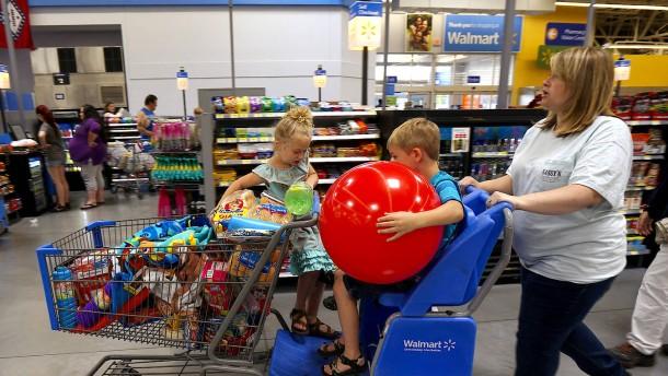 Zahlen Amerikaner für die Grenzmauer an der Supermarktkasse?