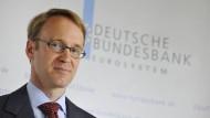 Weidmann: Euro-Finanzminister nicht durchsetzbar
