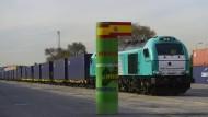Erster direkter Güterzug zwischen China und Spanien