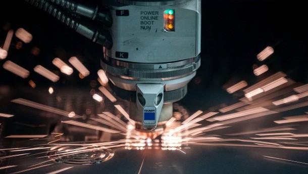 Chinas Maschinenbauer hängen deutsche Konkurrenz deutlich ab