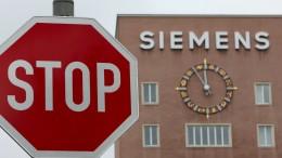 Siemens baut in Deutschland 2900 Stellen ab