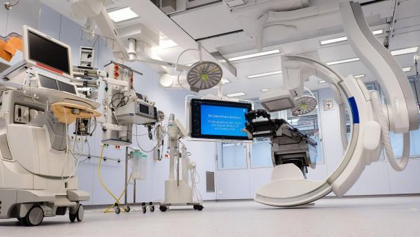 Deutsche Kliniken operieren gerne niederländisch