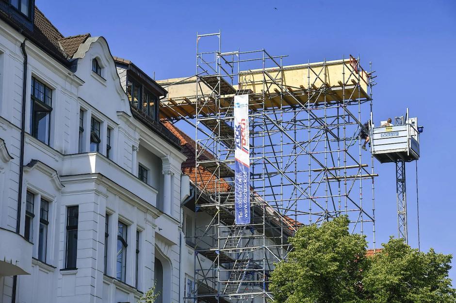 Das Dach als Bauplatz gewinnt immer mehr an Bedeutung.