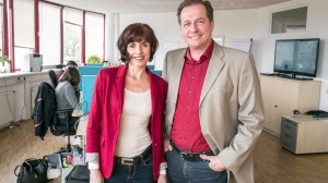 Alles digital und zum Mitbestimmen: So funktioniert die neue Versicherung von Claudia Lang und Stefan Keck.