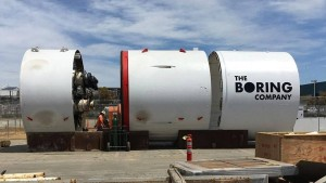 Elon Musks Tunnelbohrer bohrt jetzt