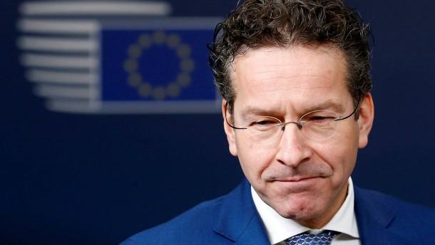 """Eurogruppen-Chef: """"Meine Anstellung besteht bis Januar 2018"""""""
