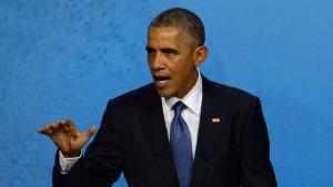 Obama fordert Verbot von Überholspuren im Internet