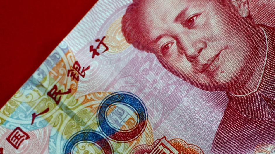 Gewinnt an Wert: Chinesische Geldnote.