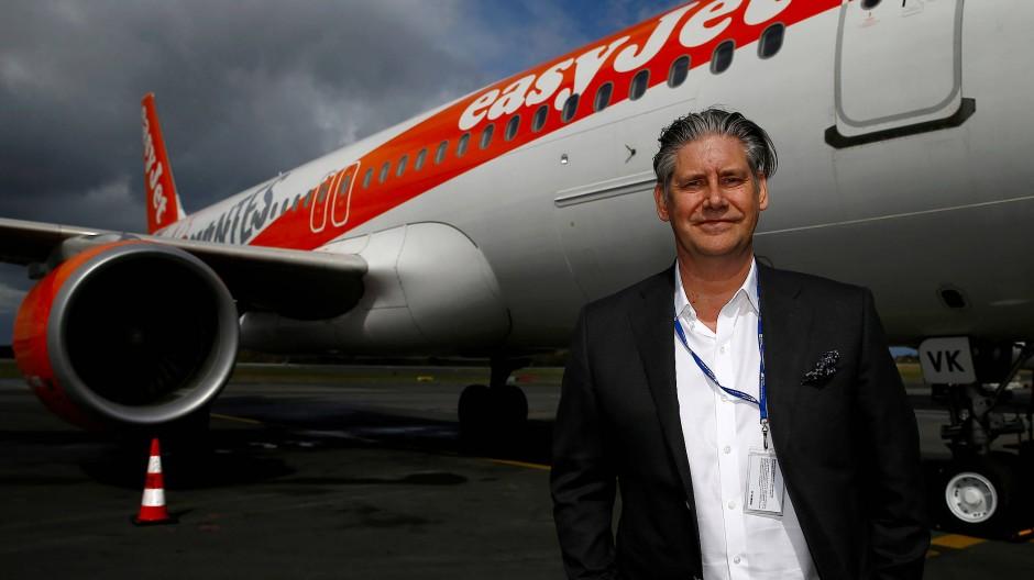 Easyjet-Chef Johan Lundgren ist entschlossen, etwas gegen den Klimawandel zu tun.