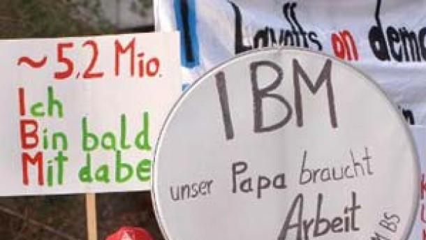 Stellenabbau bei IBM geringer als befürchtet