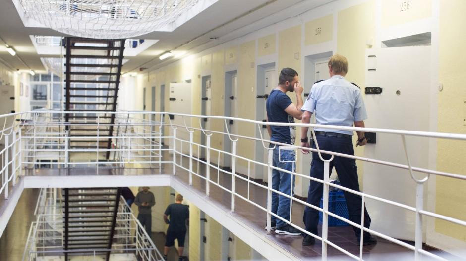 Einschluss. Im Schulflügel bleiben die Türen allerdings viel häufiger offen als anderswo im Gefängnis.