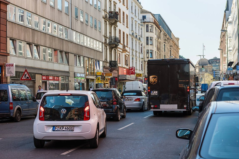 Frankfurt Stau