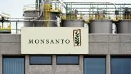 Monsanto-Werk in Lillo in der Nähe von Antwerpen