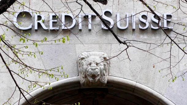 Credit Suisse streicht 100 Stellen im Investmentbanking