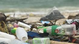 Das Meeresplastik kommt wieder ins Regal