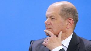 Scholz: Wollen uns nicht langfristig an Unternehmen beteiligen