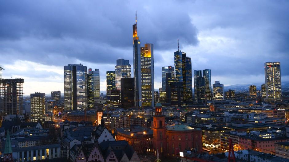 Sind die Banken in Europa wie hier in Frankfurt gut gerüstet für die Folgen der Corona-Krise?