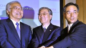 Sony, Toshiba und Hitachi produzieren gemeinsam