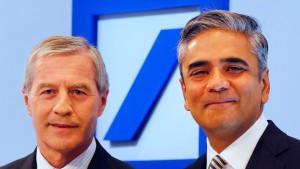 Deutsche-Bank-Doppelspitze bleibt mindestens bis 2017