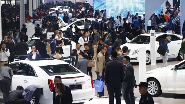 Chinas Industrie macht weniger Gewinn