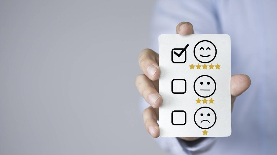 Bewertungen und Empfehlungen gewinnen an Wichtigkeit.