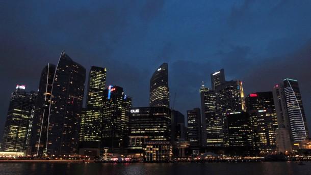 Für Steuerhinterzieher in Singapur wird es eng