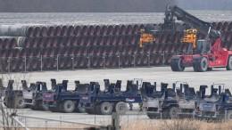 Endspiel für die Pipeline Nord Stream 2
