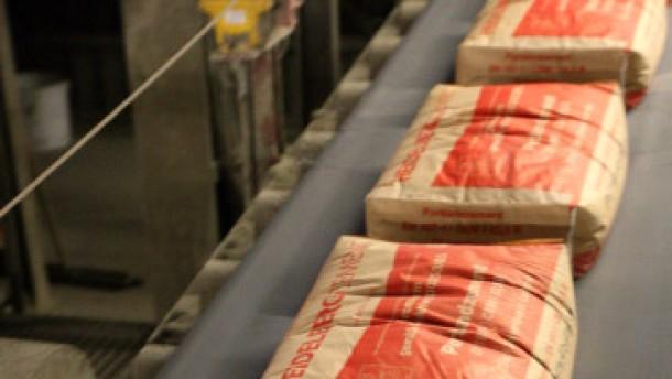Kartellverfahren gegen Zementhersteller