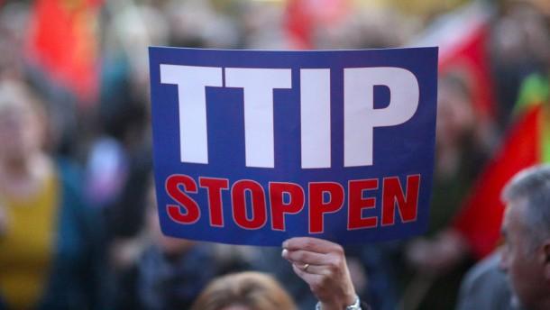 Kein Interesse am Dialog zu TTIP