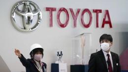 Toyota steigert Gewinn deutlich