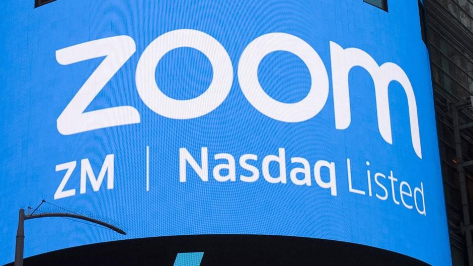 Zoom ist an der Börse in New York notiert.