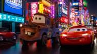 """Der Film """"Cars 2"""" stammt aus dem Hause der Disney-Trickfilmfirma Pixar."""