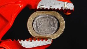 """""""Ohne Rettungshilfe sind wir raus aus dem Euro"""""""