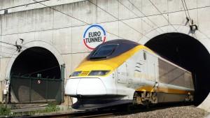 Eurotunnel will Geld für Flüchtlinge