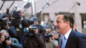 Camerons Blockade spaltet Großbritannien