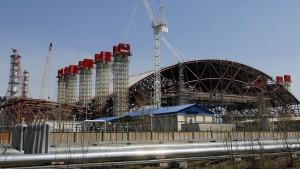 Tschernobyl bekommt eine Schutzhülle