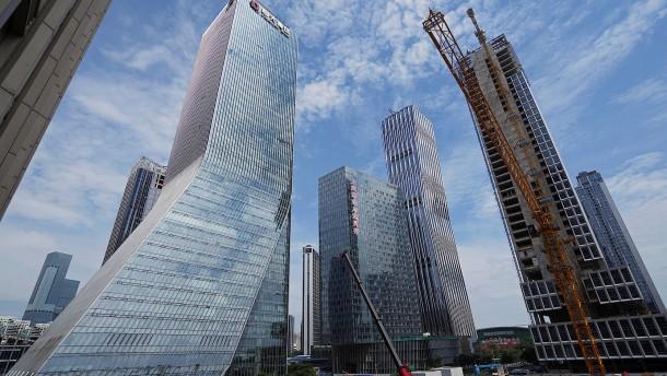 Stadt Shenzhen nimmt Evergrande-Sparte ins Visier