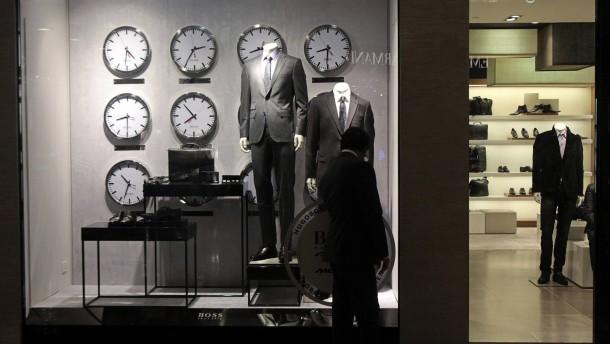 Hugo-Boss-Aktie sackt um mehr als zehn Prozent ab