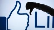 Facebook arbeitet an Gefällt mir nicht-Button