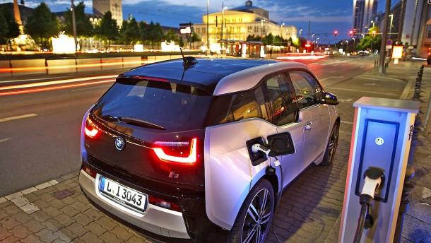 Deutlich mehr Elektroautos in der EU