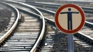 EVG droht mit Bahnstreiks
