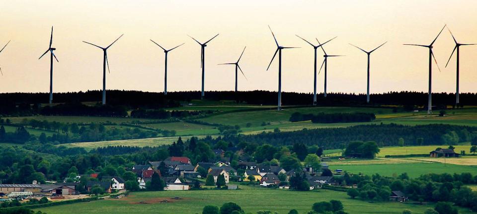 Energiehunger und Klimawandel verändern die Landschaft