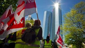 Grabenkämpfe in der Deutschen Bank