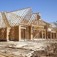 In manchen Gegenden nicht stabil genug: Holz, der präferierte Baustoff der Amerikaner