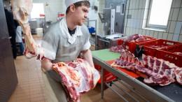 Junge Menschen werden lieber Tierpfleger als Metzger