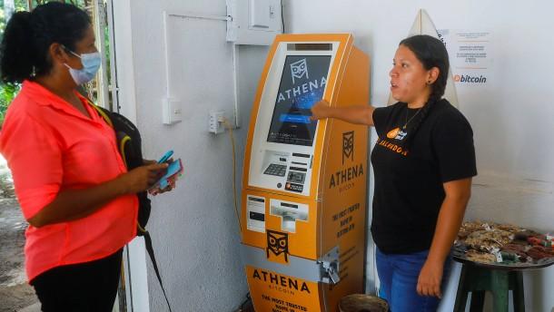 Gesetz für Bitcoin als Zahlungsmittel in El Salvador